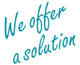 We offer a solution